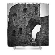 Gatehouse At Nenagh Castle Ireland Shower Curtain