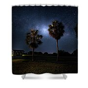 Gates To The Galaxy Shower Curtain