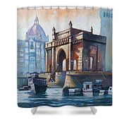 Gateway To India Shower Curtain