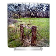 Gateway To No Where Shower Curtain