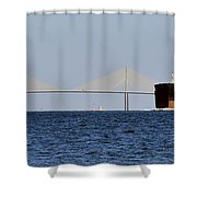 Gateway To Tampa Bay Shower Curtain by David Lee Thompson