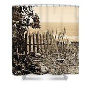 Gateway To The Mediterranean Shower Curtain