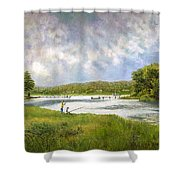 Gathering Clouds Shower Curtain