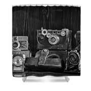 Gathering Dust I Shower Curtain by Heather Applegate