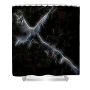 Gathering Of Angels Shower Curtain