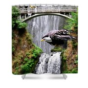 Gathering Of Eagles Shower Curtain