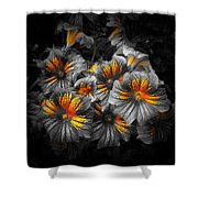 Gathering Of Gold Shower Curtain