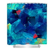 Gathering Of The Squares Shower Curtain