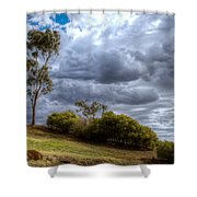 Gathering Storm Clouds Shower Curtain