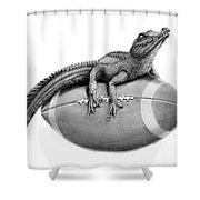 Gator Football Shower Curtain