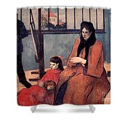 Gaugin: Family, 1889 Shower Curtain
