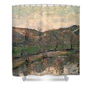 Gauguin: Brittany, 1888 Shower Curtain