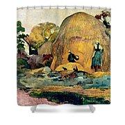 Gauguin: Haystacks, 1889 Shower Curtain