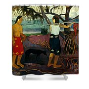 Gauguin: Pandanus, 1891 Shower Curtain by Granger