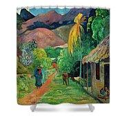 Gauguin Tahiti 19th Century Shower Curtain