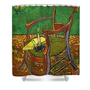 Gauguin's Chair Shower Curtain