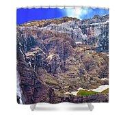 Gavarnie Circus Waterfall Shower Curtain