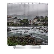 Gave De Pau Lourdes Shower Curtain