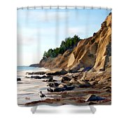Gaviota Shower Curtain