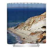 Gay Head Cliffs And Beach Shower Curtain