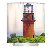 Gay Head Lighthouse Shower Curtain