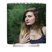 Gaze Upon Nature Shower Curtain