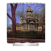 Gazebo At Wisconsin Club Shower Curtain