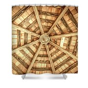 Gazebo Roof Shower Curtain
