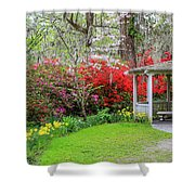 Gazebo View Shower Curtain