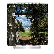 Gazebo With A View Shower Curtain
