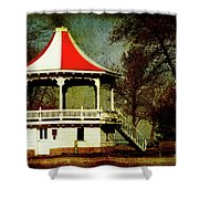 Gazeebo Shower Curtain
