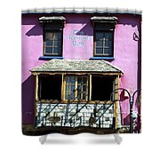 Gearagh Pub In Macroom Ireland Shower Curtain
