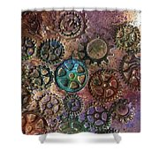 Gears 2 Shower Curtain
