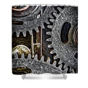 Gears Of Life Shower Curtain
