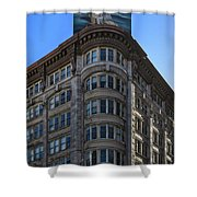 Geary And Powell Street Shower Curtain