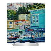 Geary Street Shower Curtain