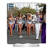 Geaux Tigers Shower Curtain