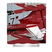 Gee Bee Racer Shower Curtain