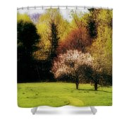 Geele Farm Meadow Shower Curtain