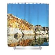 Geikie Gorge Shower Curtain