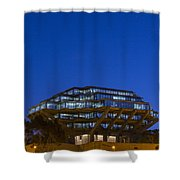 Geisel Library Shower Curtain
