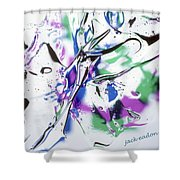 Gel Art #12 Shower Curtain