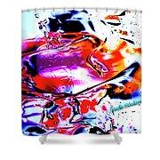 Gel Art #14 Shower Curtain