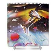 Gel Art #17 Shower Curtain