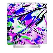 Gel Art#18 Shower Curtain