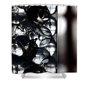 Gel Beads Shower Curtain by Fabio Giannini