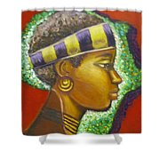 Gem Of Africa Shower Curtain
