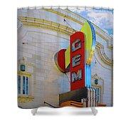 Gem Theater  Shower Curtain