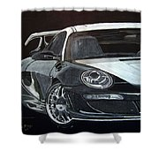 Gemballa Porsche Right Shower Curtain