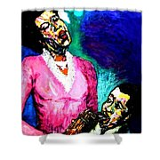 Gemelos Del Alma-- Soul Mates Shower Curtain